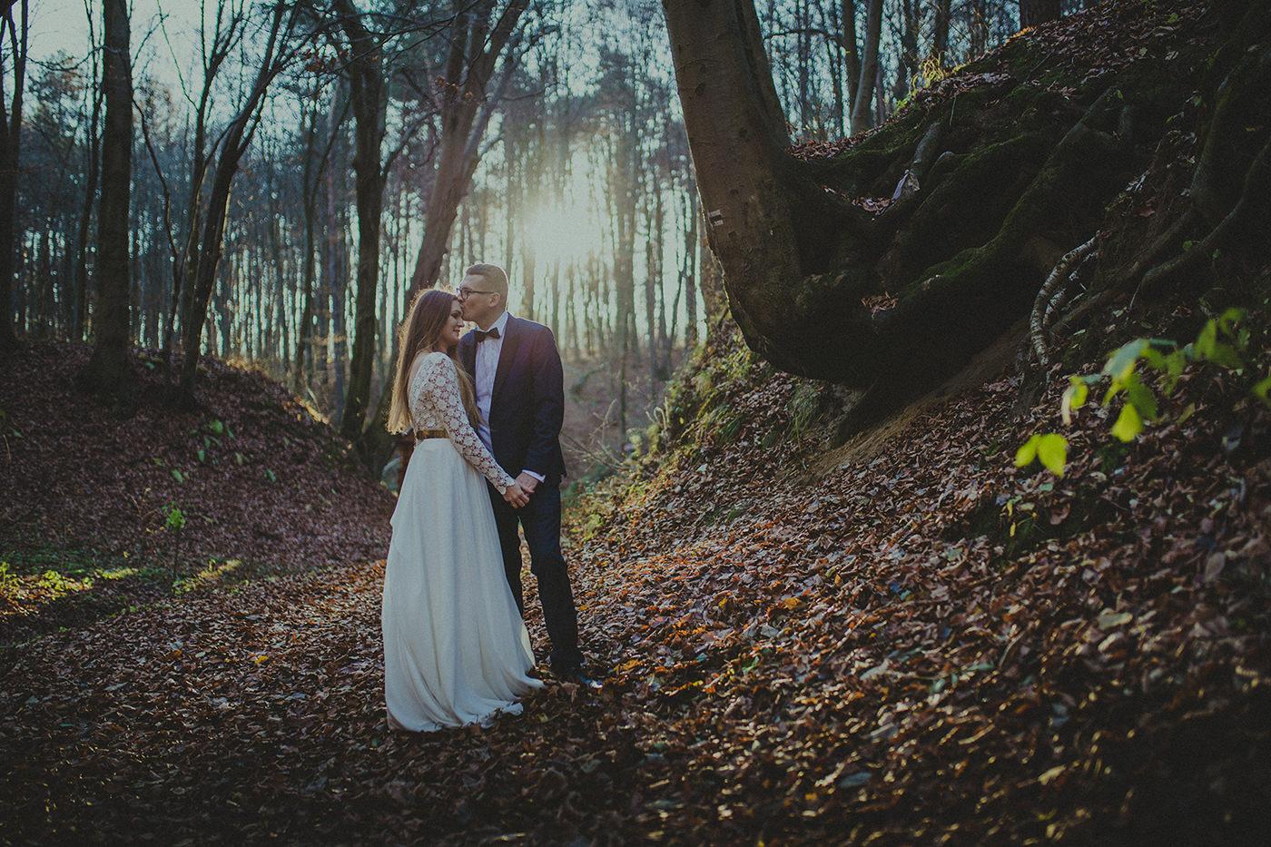 forest wedding poland