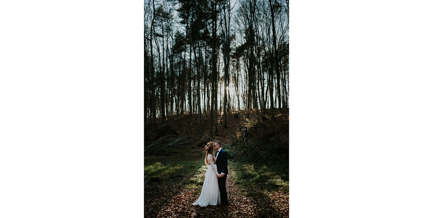 Autumn wedding photo session