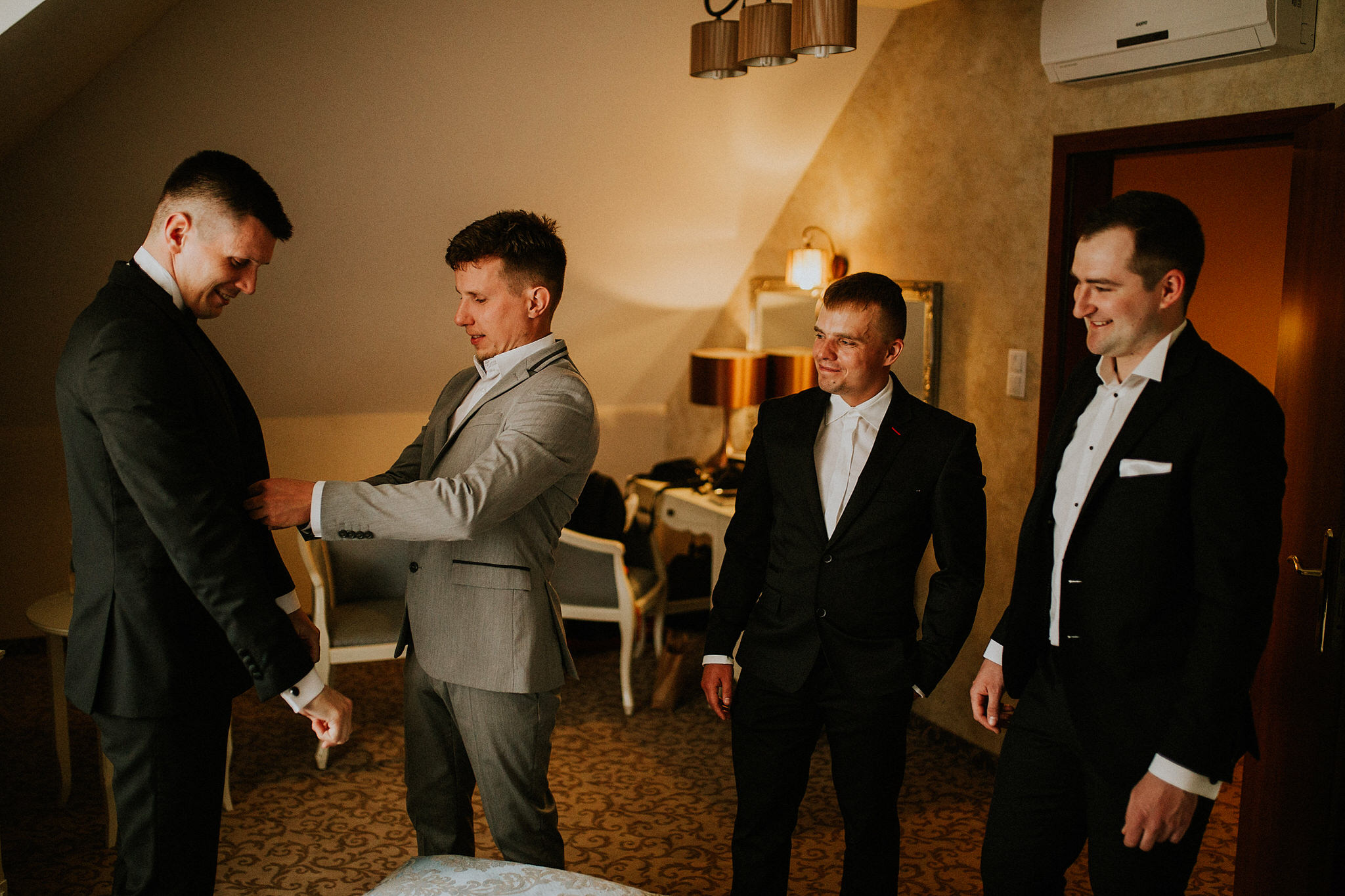 wedding at Hotel Trzy Róże