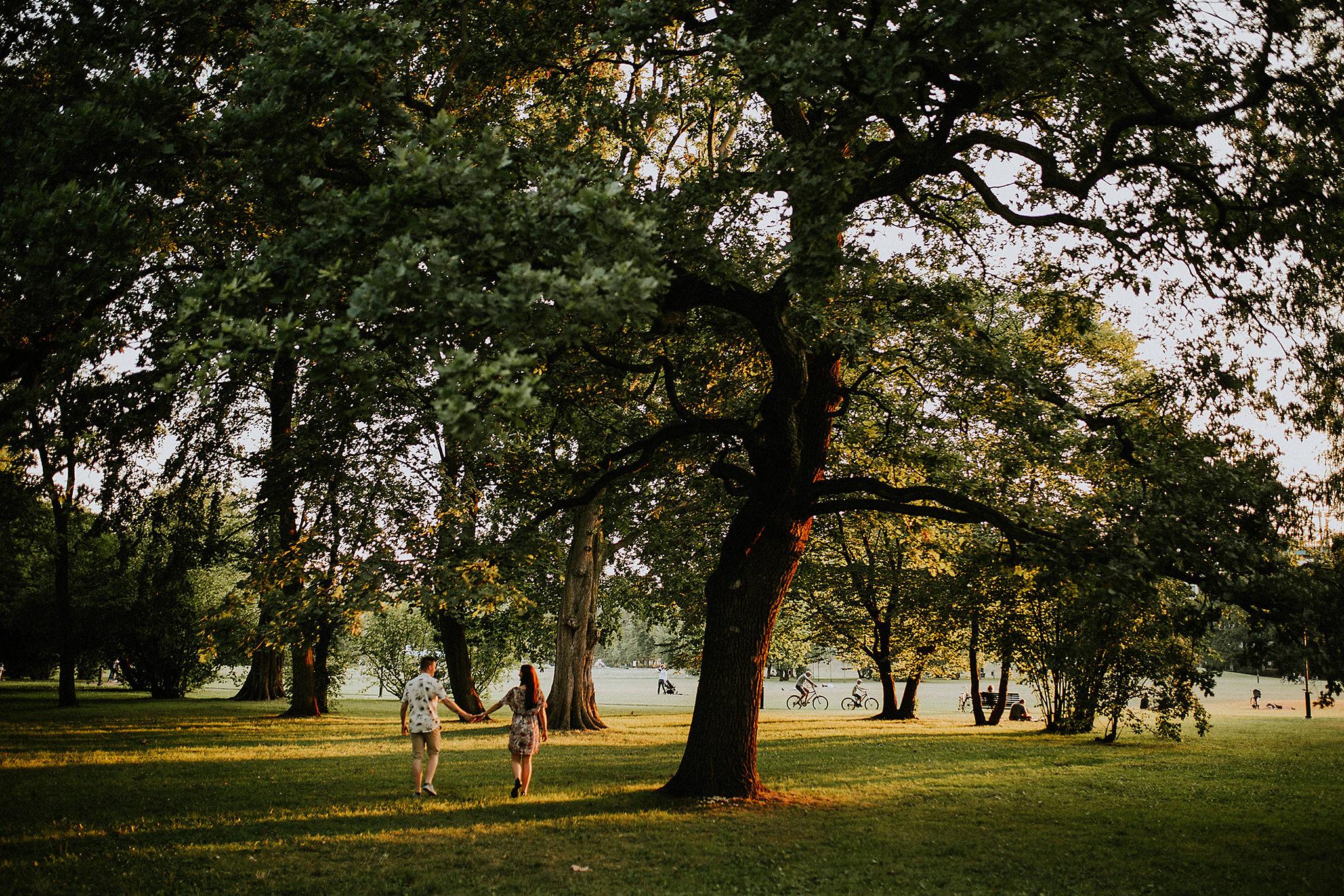 sesja w parku jordana w krakowie