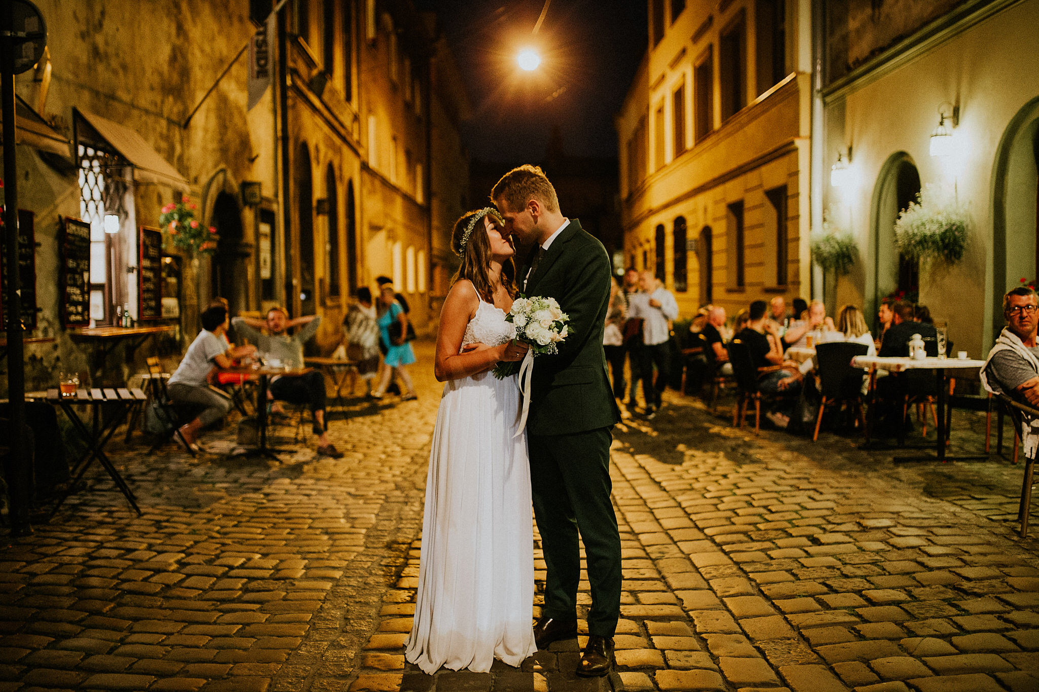 bridal session in kazimierz krakow