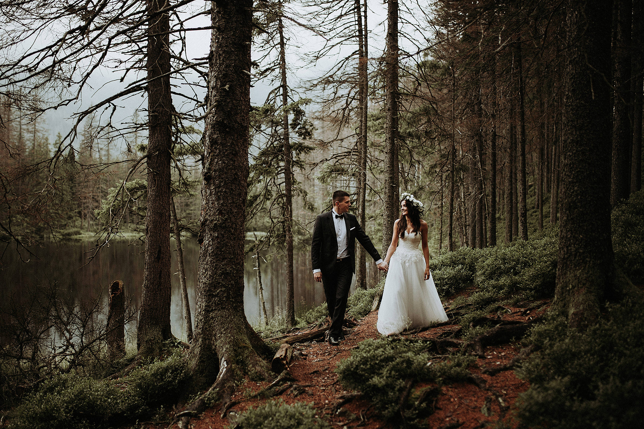 wedding mountains poland