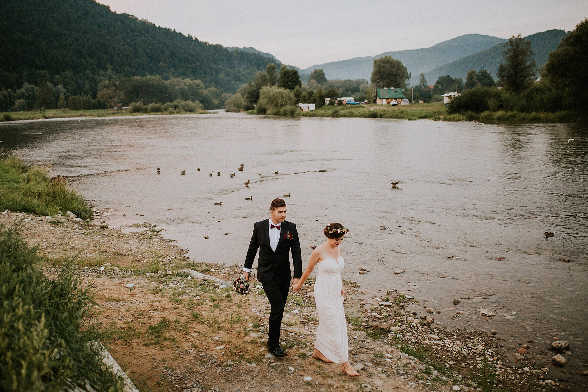 destination wedding in the mountains Poland