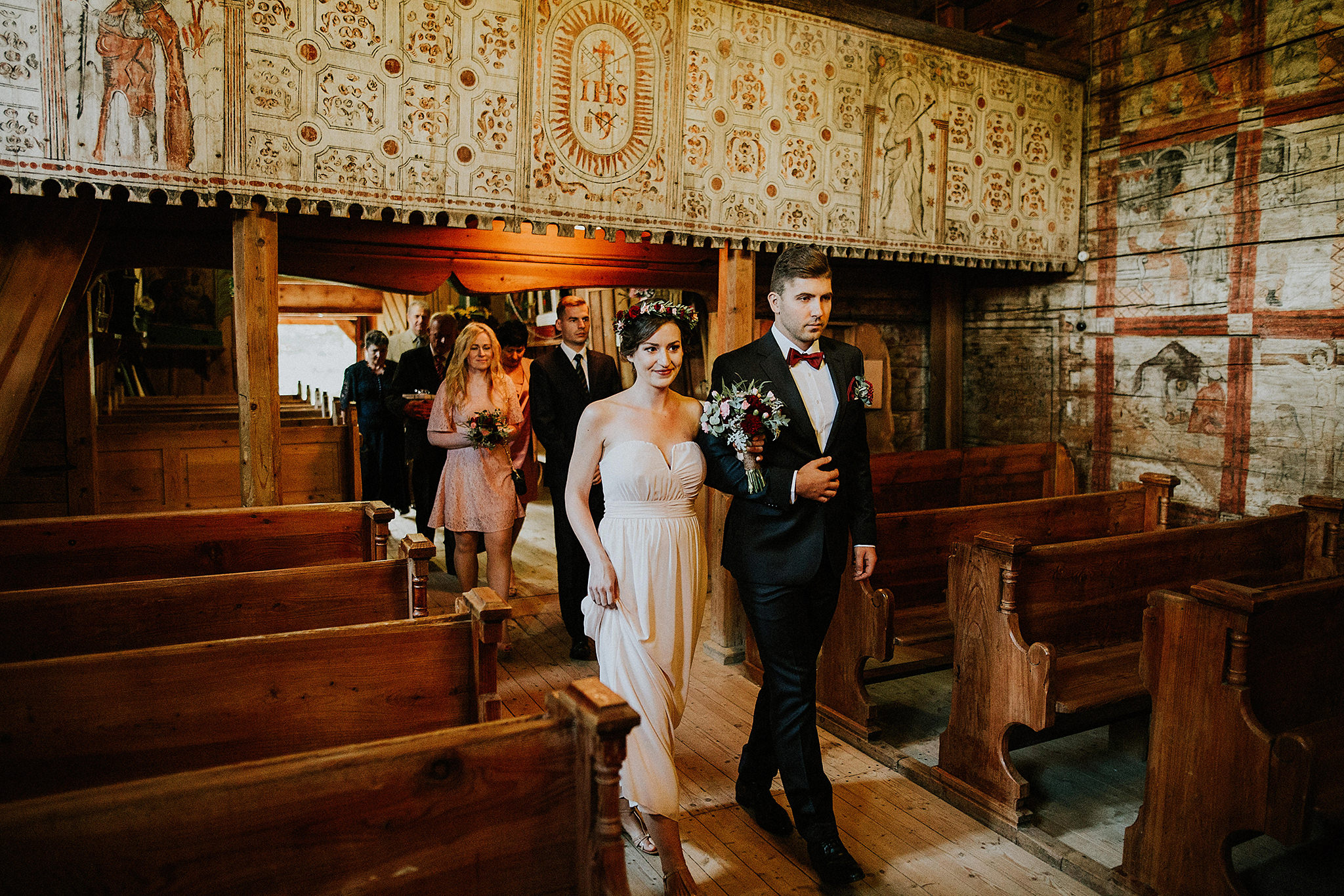 Intimate destination wedding Poland