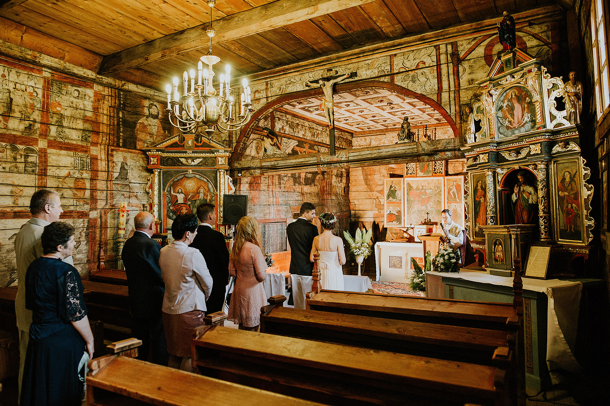 Intimate destination wedding in the mountains Poland