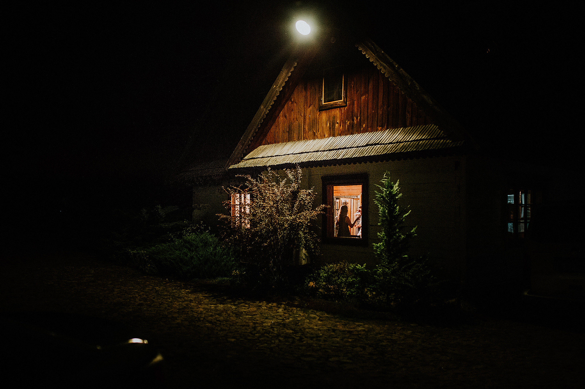 rustic wedding in a polish village