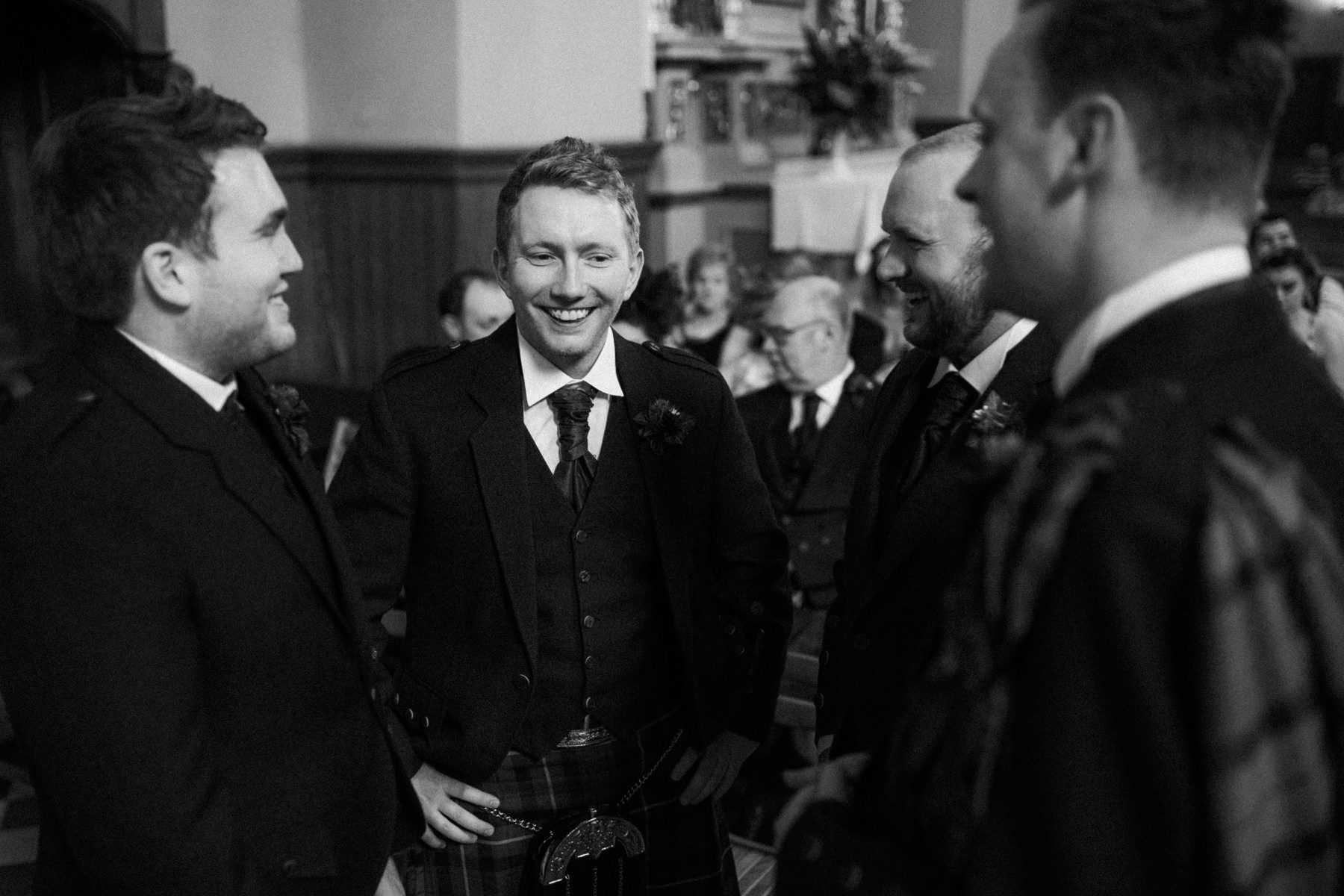 Polish-Scottish wedding in Poland