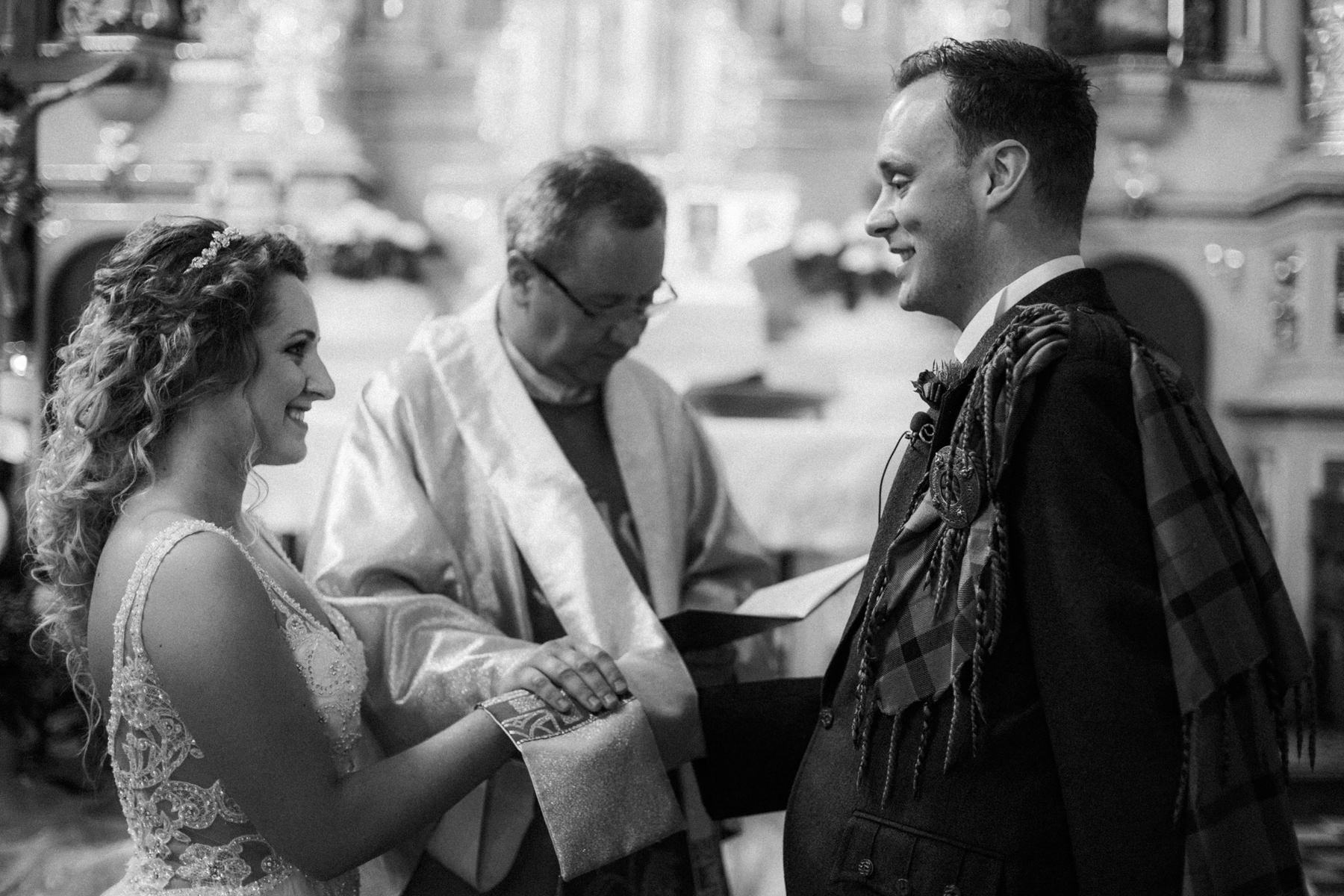 UK wedding in poland
