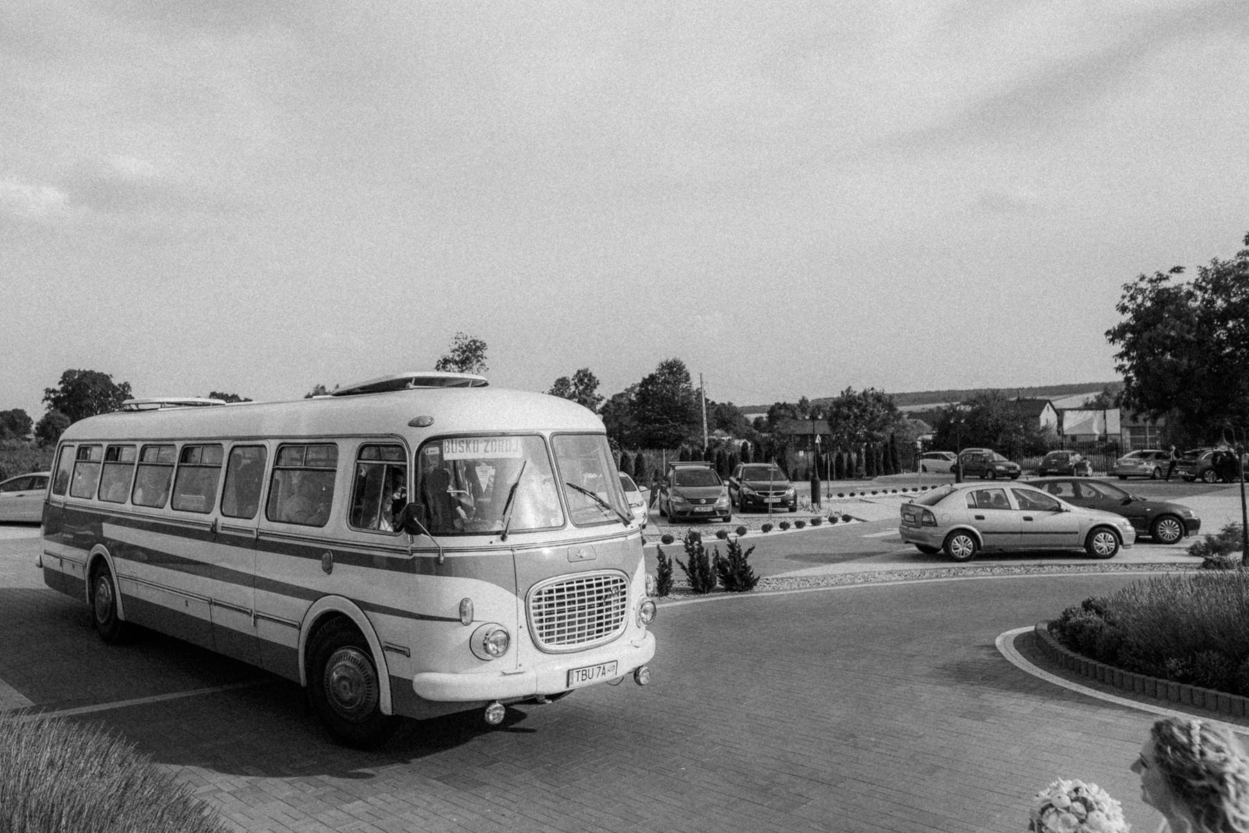 autobus dla gosci weselnych krakow