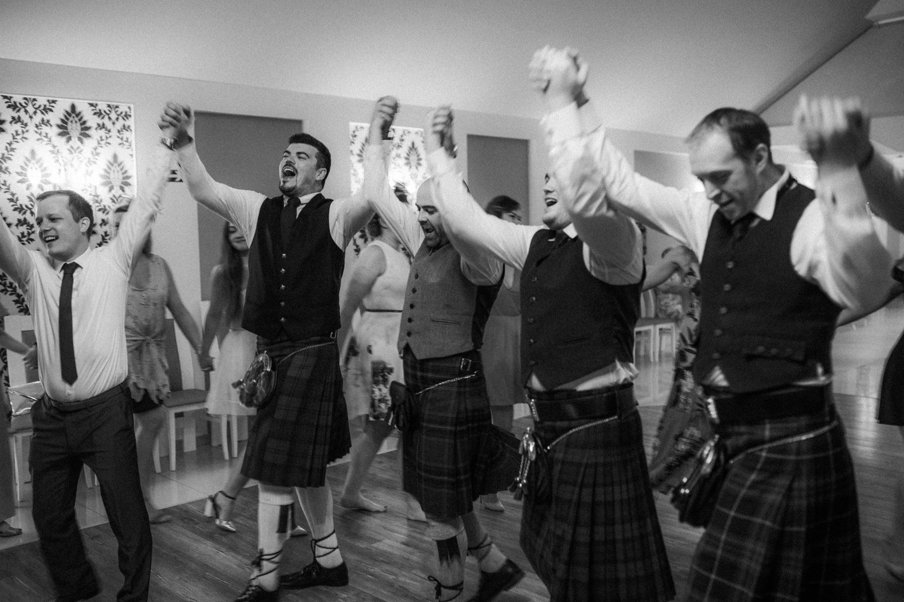 zabawy weselne dla szkotów
