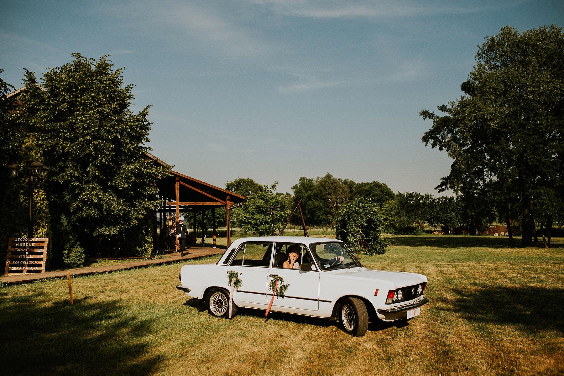 auto na ślub krakow
