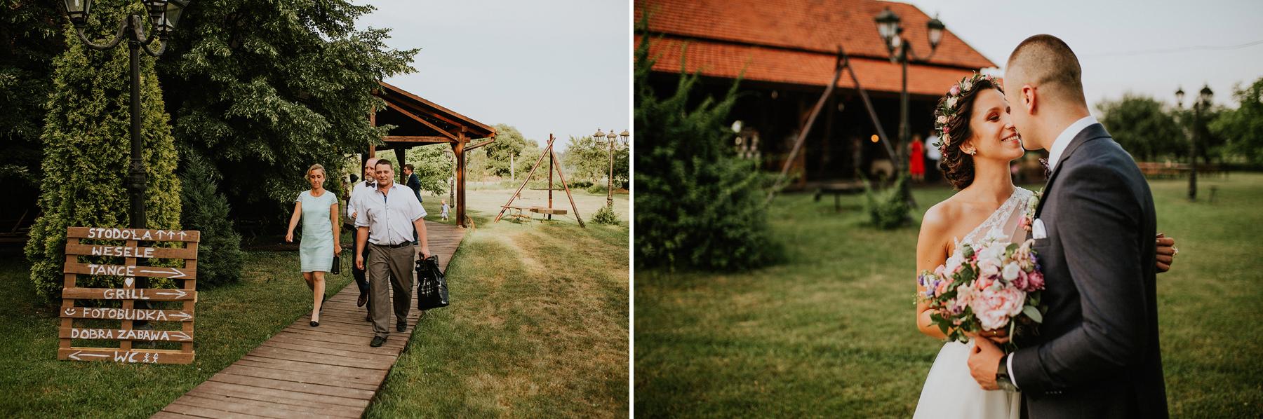 fotograf ślubny stodoła