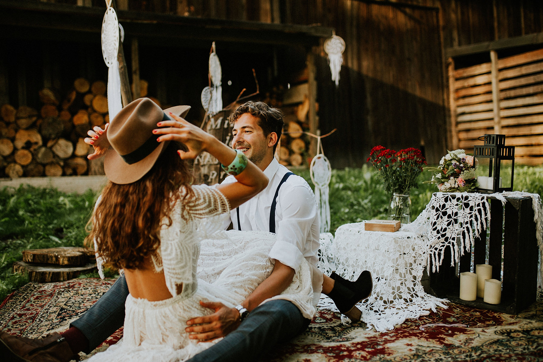 Boho wedding photography in Krakow