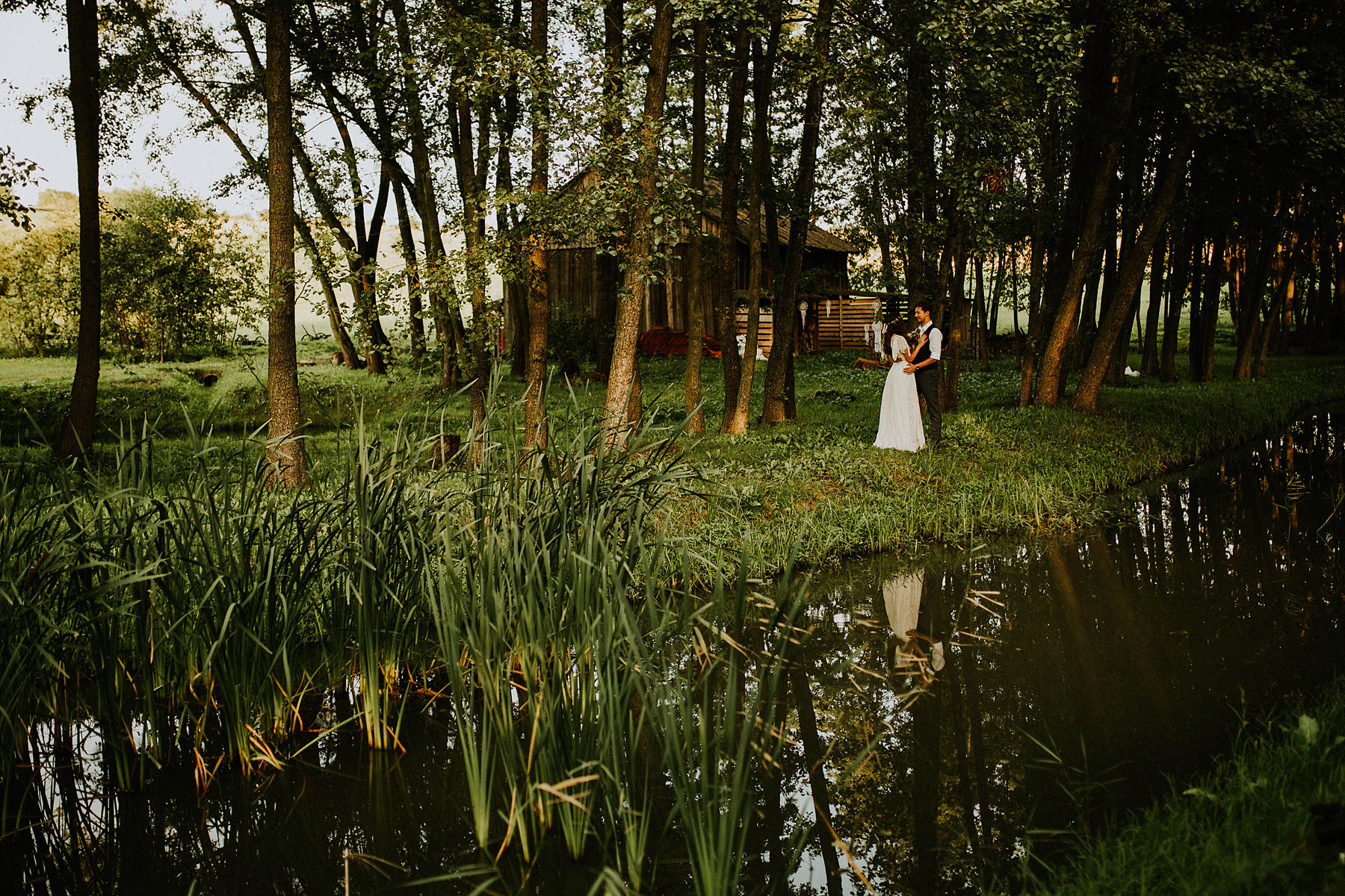 w dolinie stawu dom weselny kraków