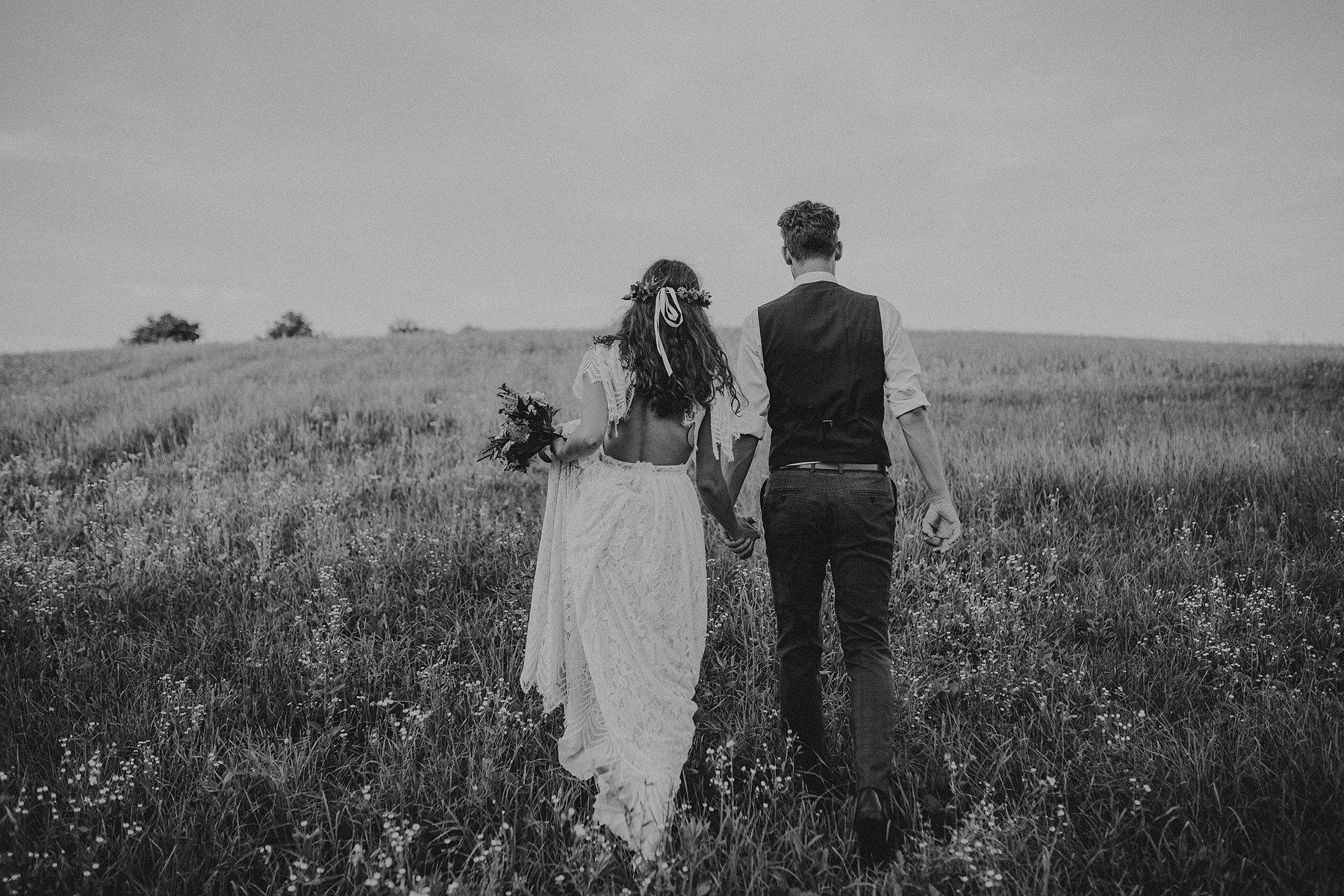 boho sesja poślubna polska