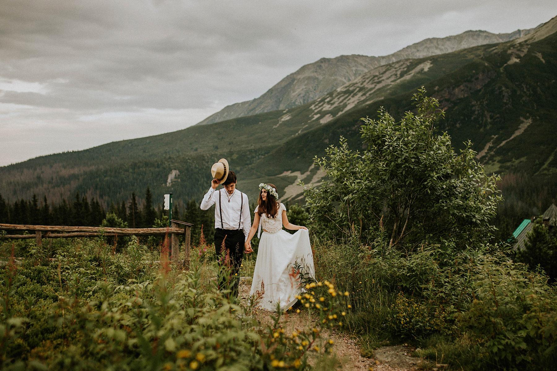 tatry wysokie sesja ślubna