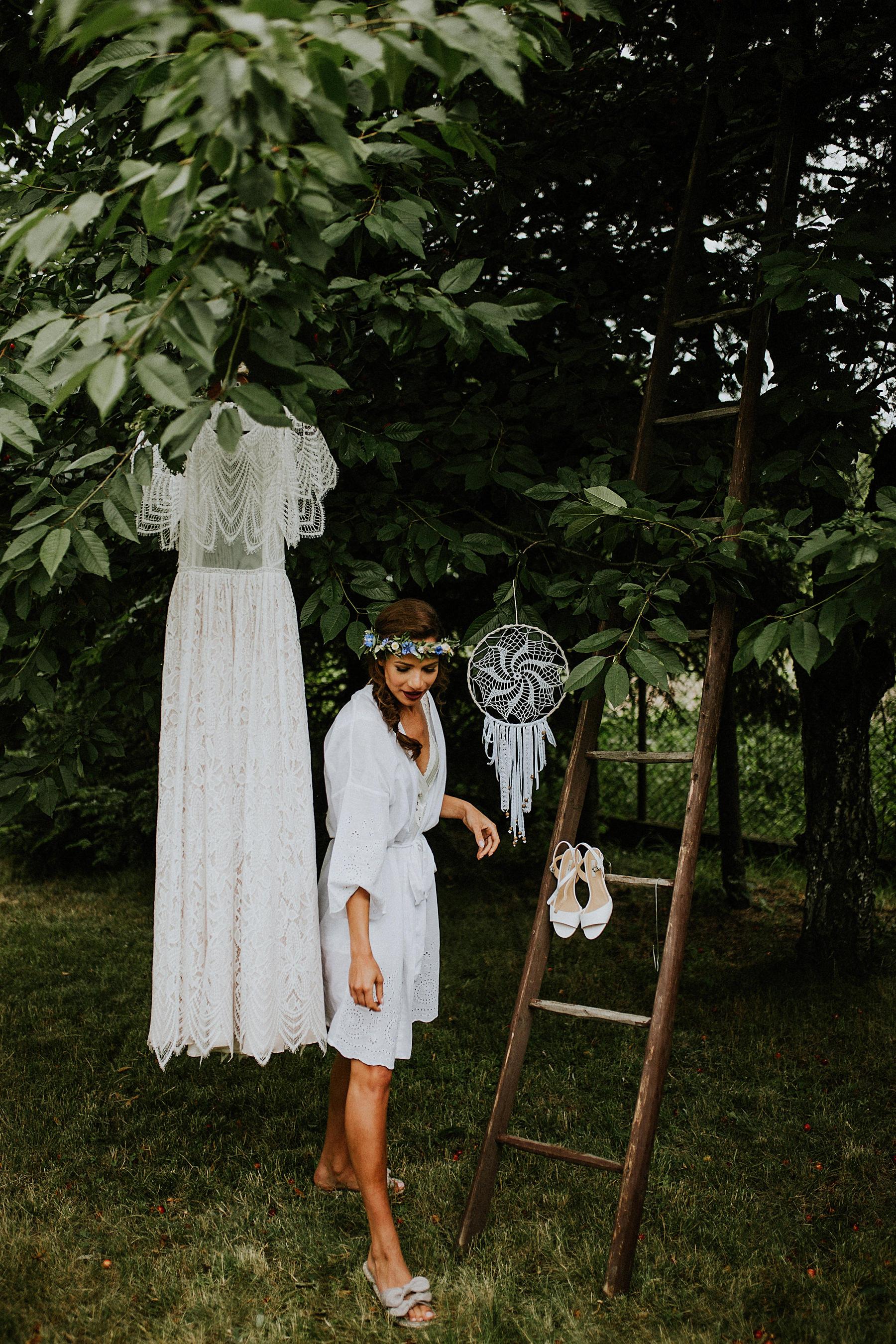 suknia ślubna boho kraków