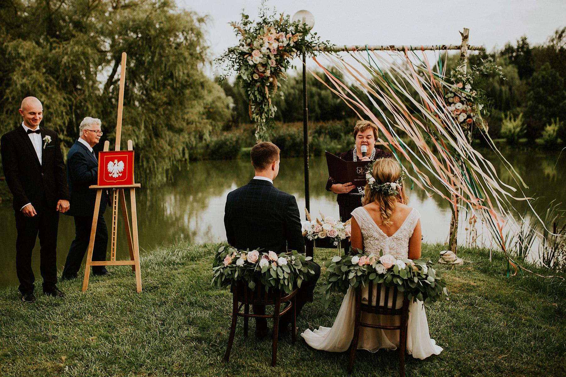 ślub plenerowy zamość