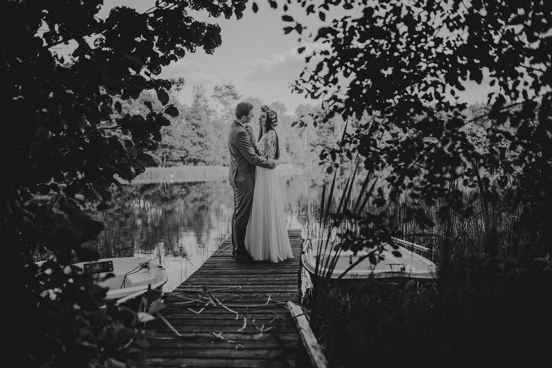 sesja ślubna nad jeziorem kaszubskim