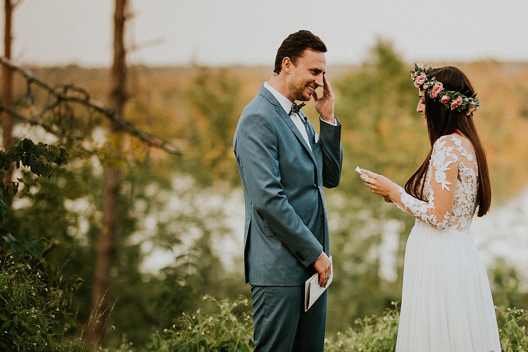 pisanie listów miłosnych sesja poślubna