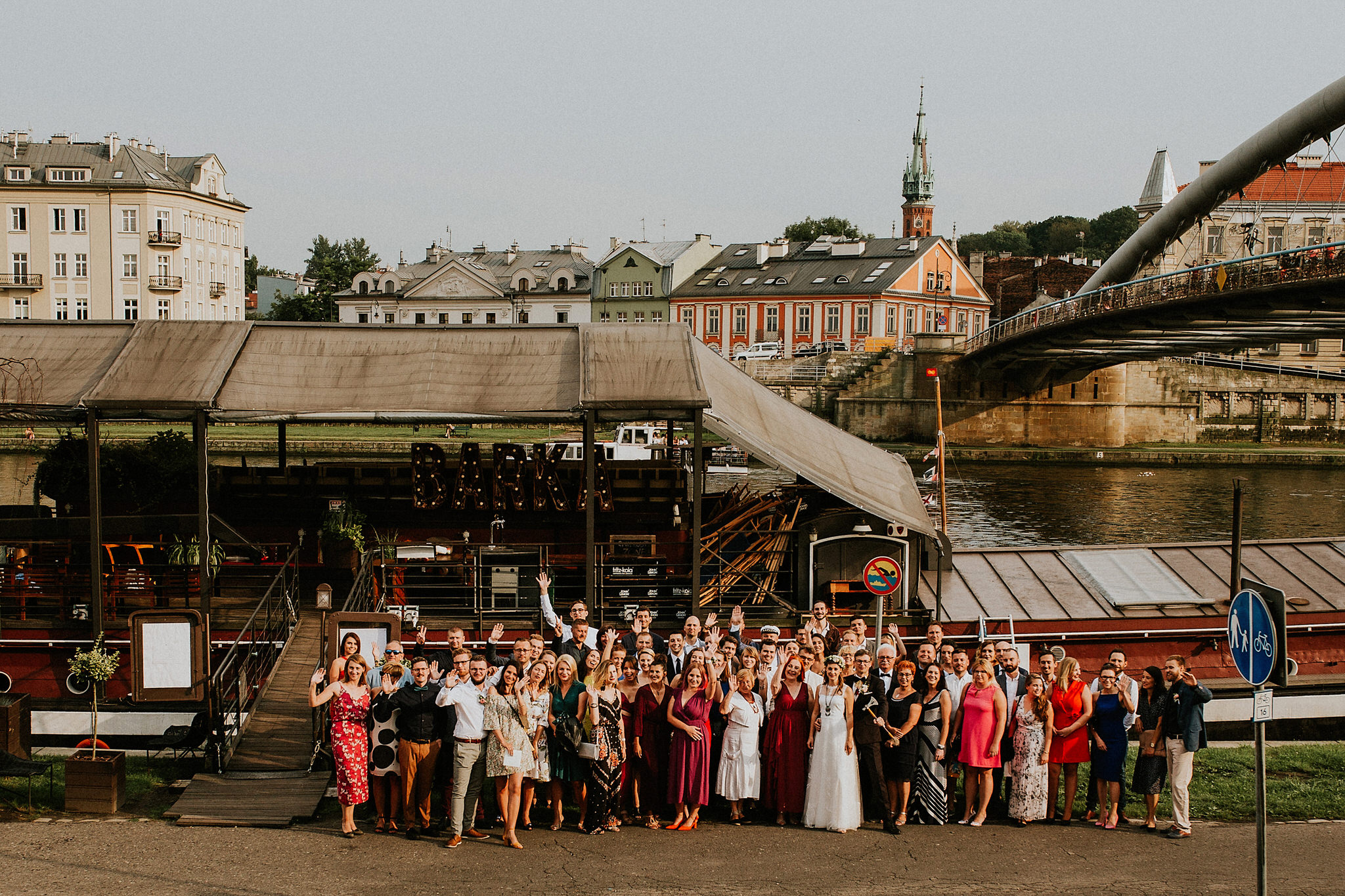 zdjęcie grupowe wesele kraków