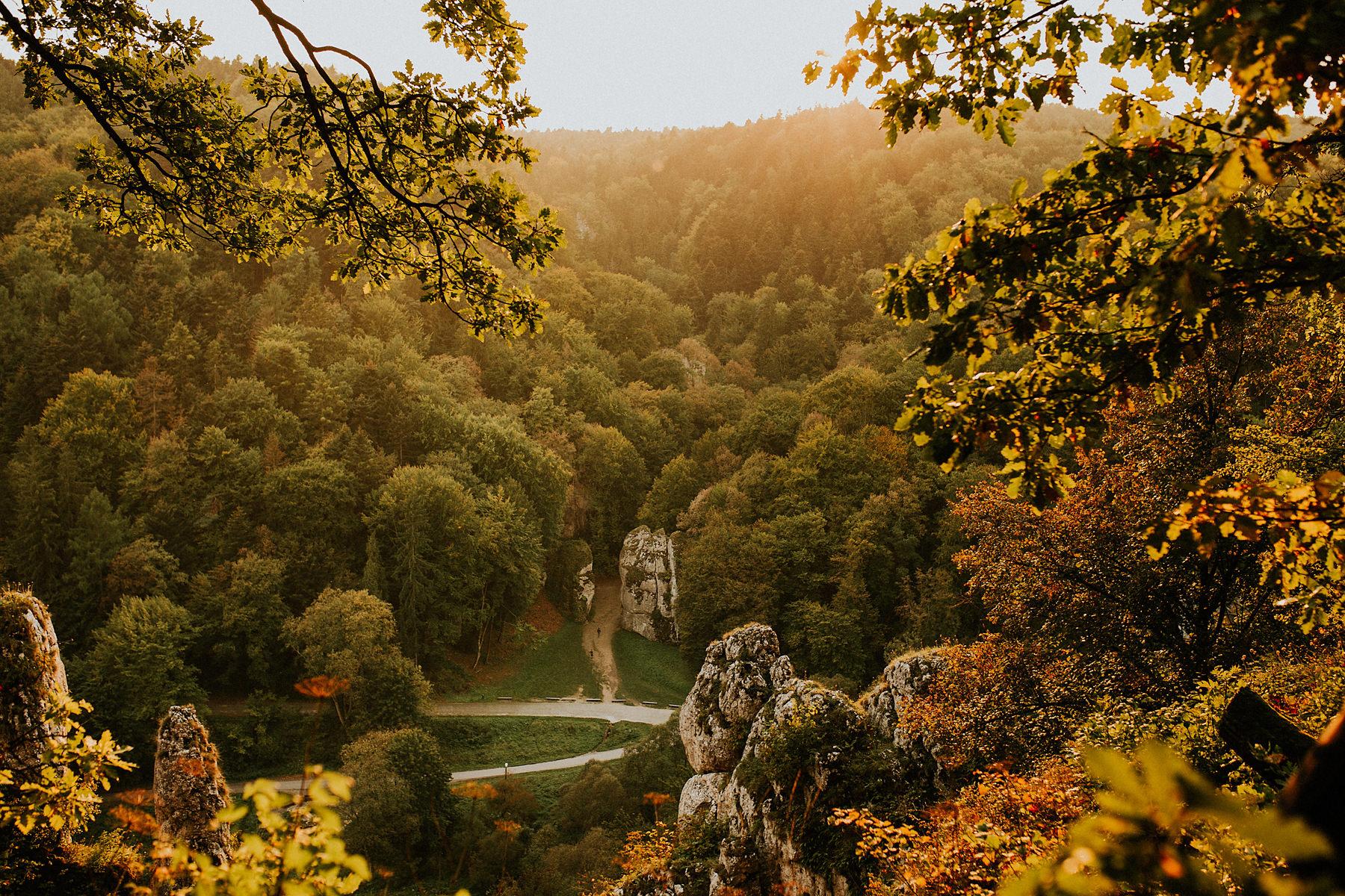 ojcowski park narodowy sesja poslubna