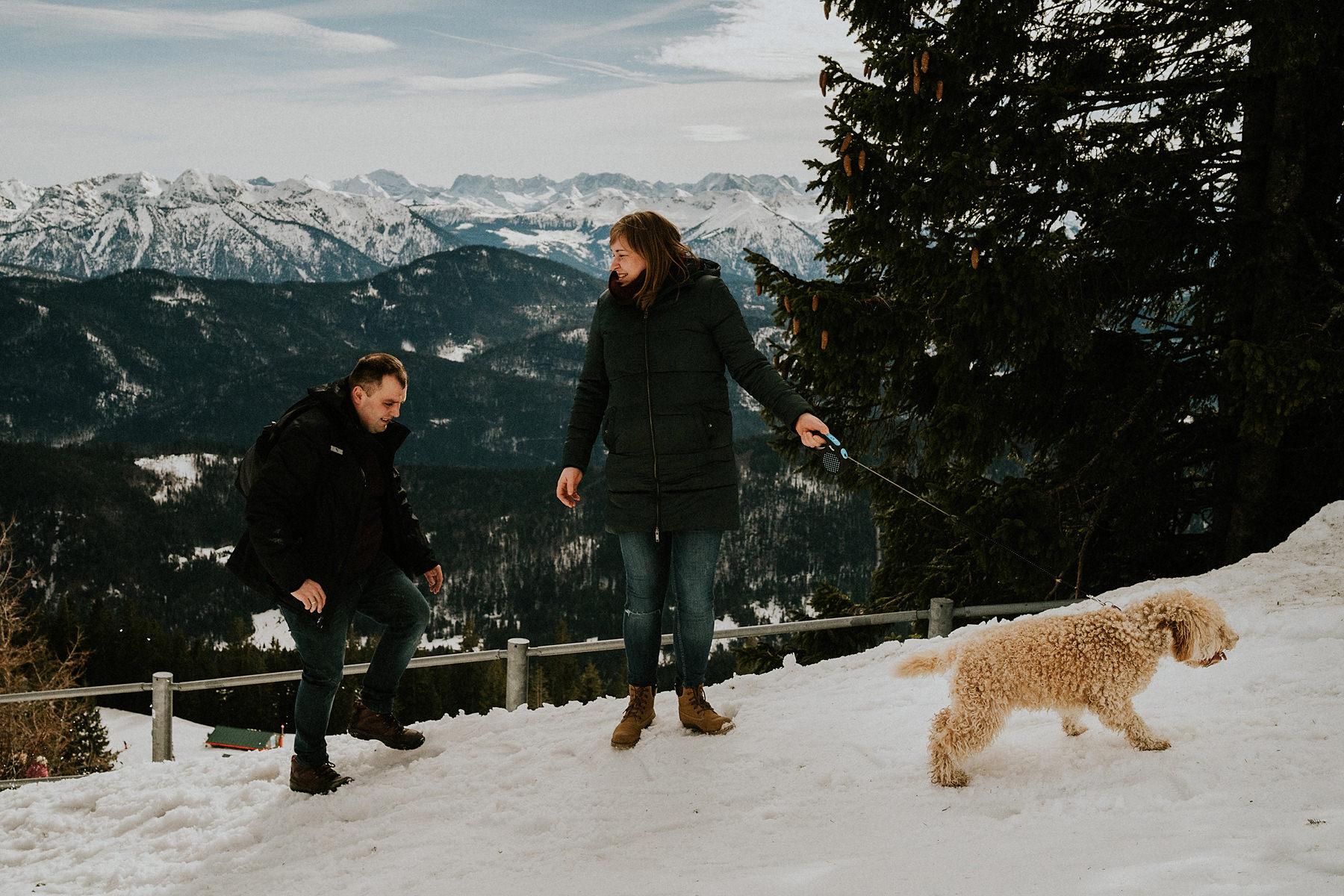 sesja ciążowa w górach