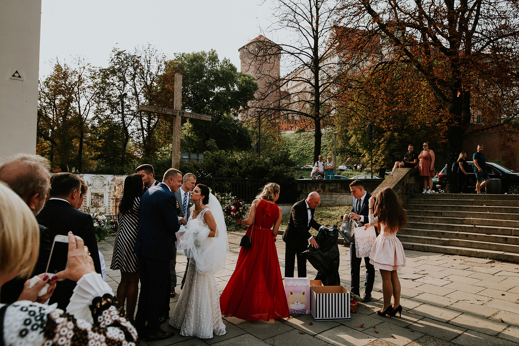 wawel castle wedding