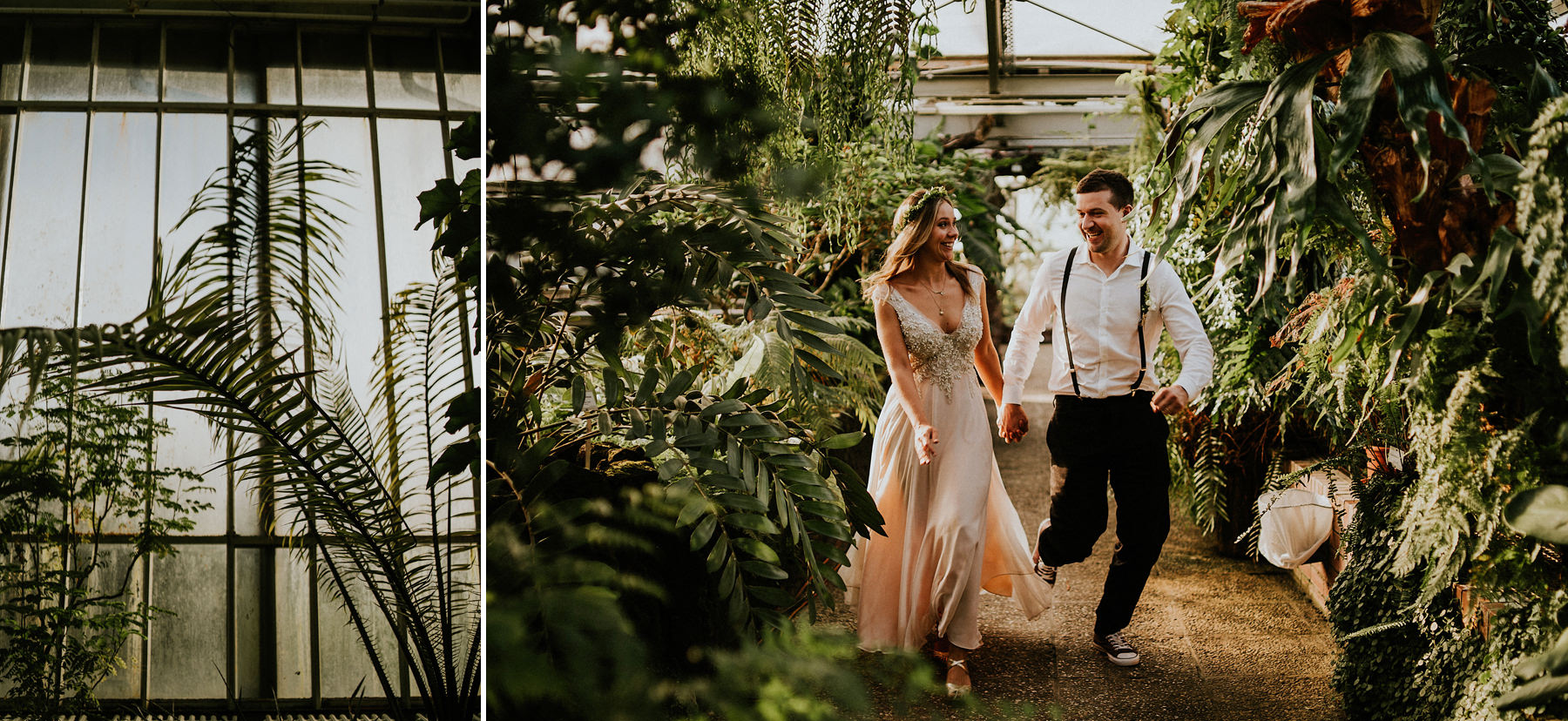 Wedding photo session in the botanical garden - Krakow photographer