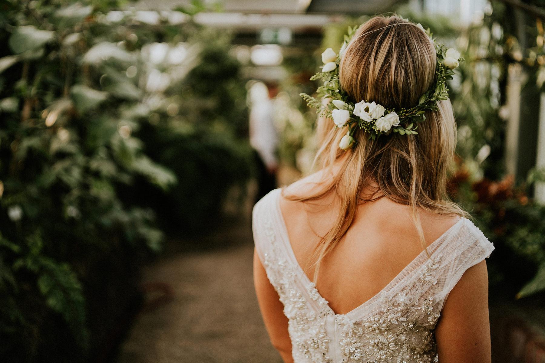 berliński ogród botaniczny sesja poślubna