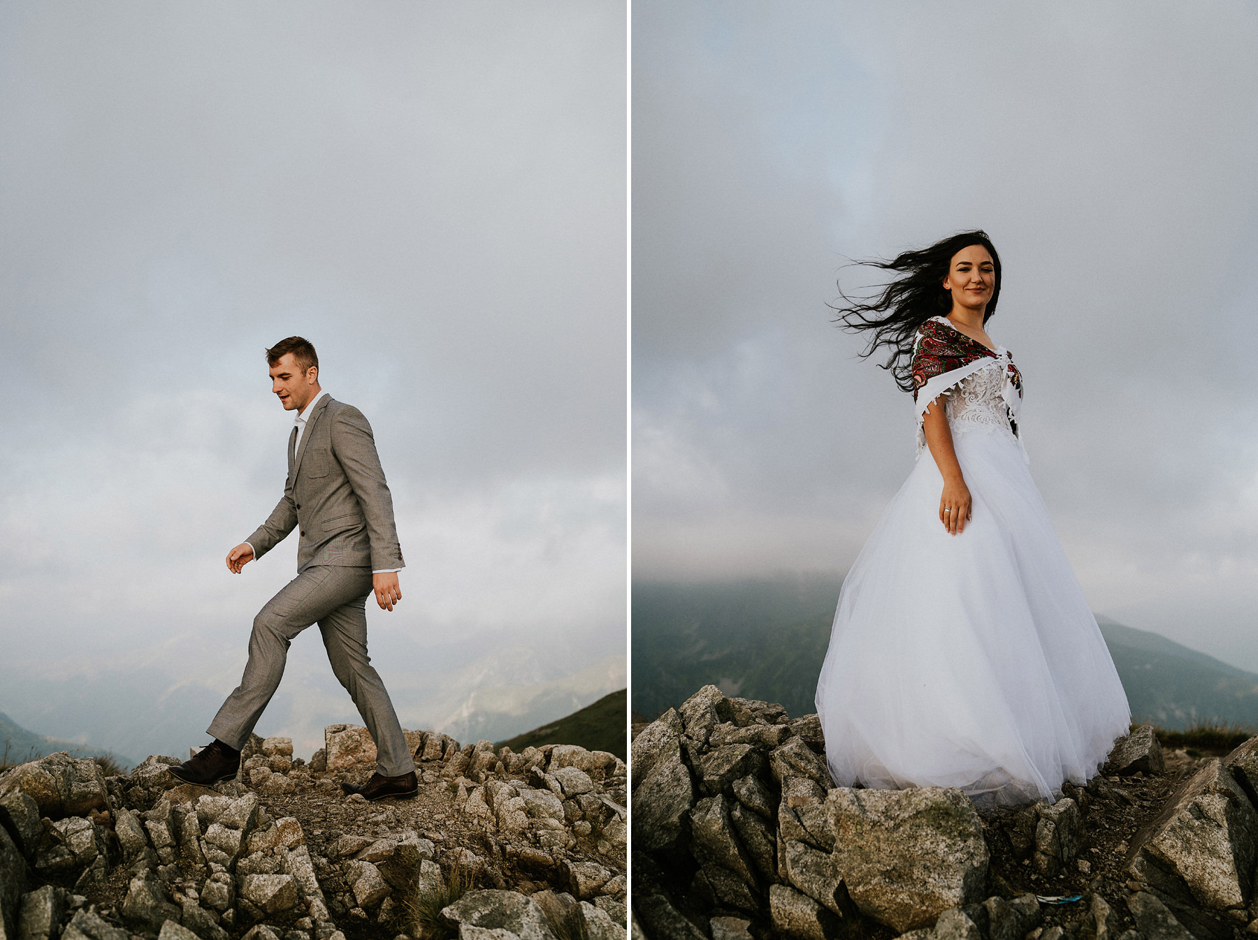 Kasprowy Wierch wedding session