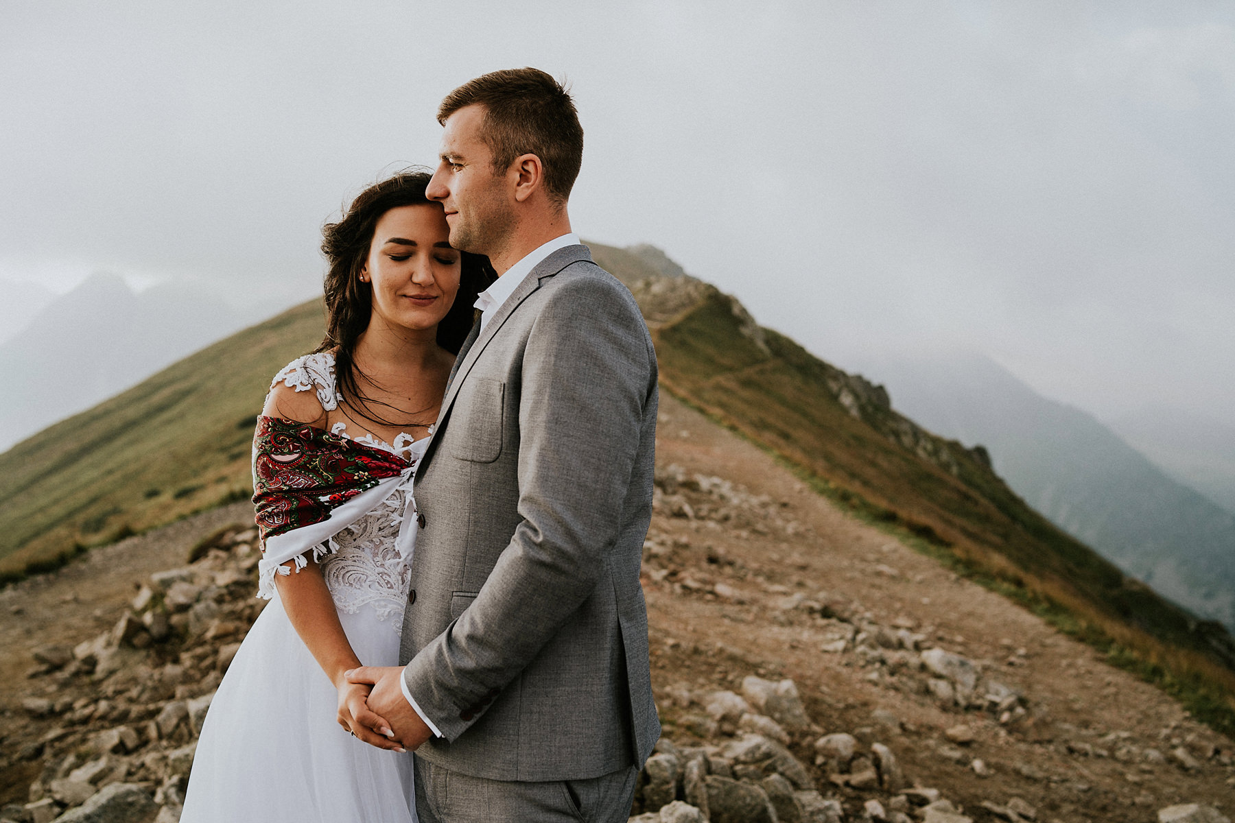 polish tatra mountains wedding