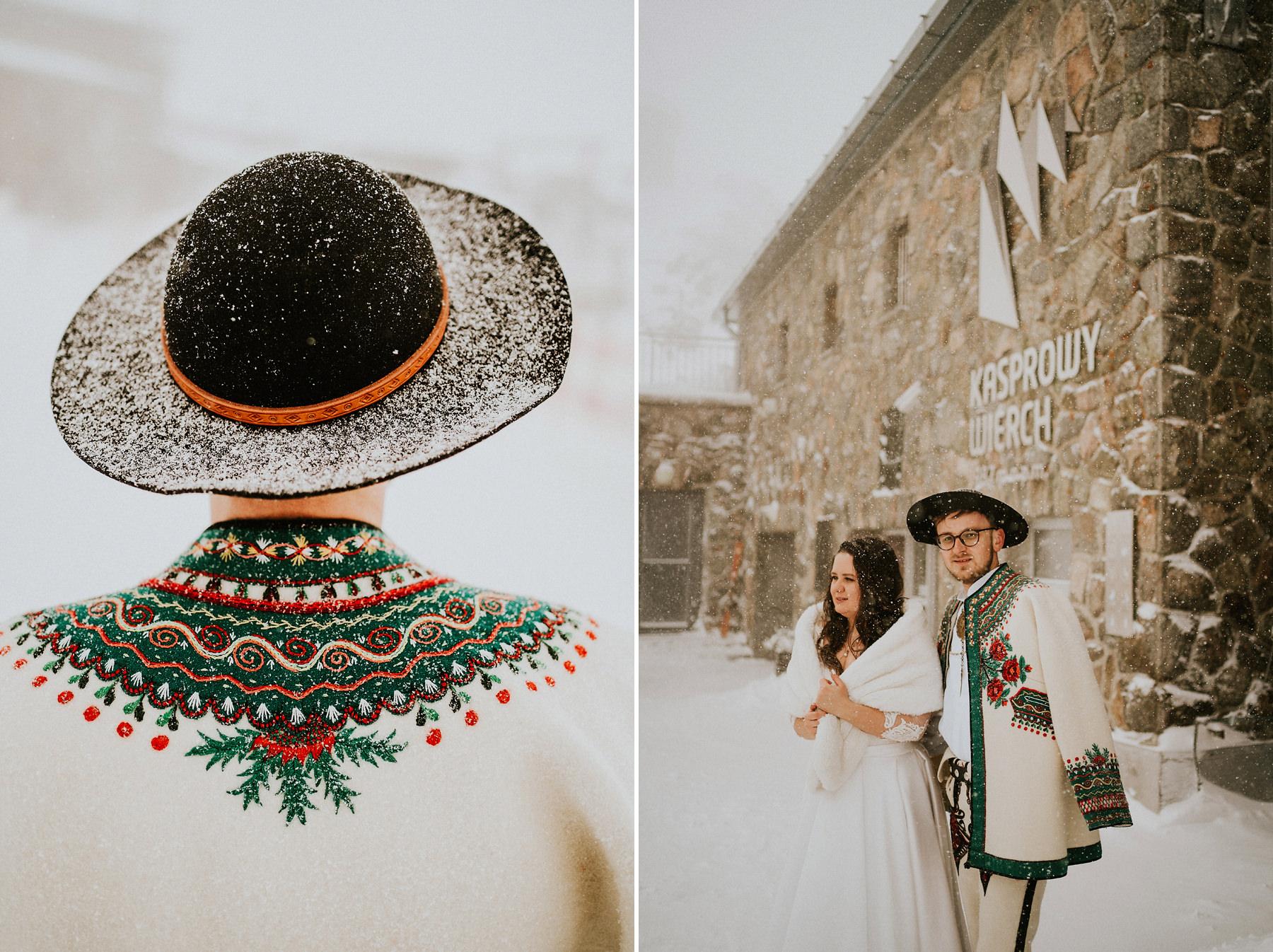 kasprowy wierch sesja poślubna