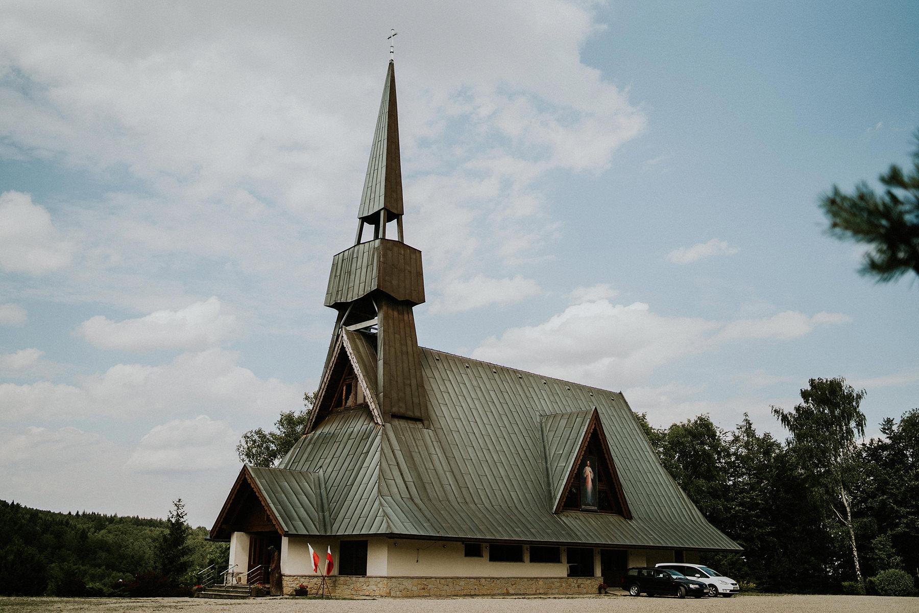 kościół w Jamnej ślub Dominikanie