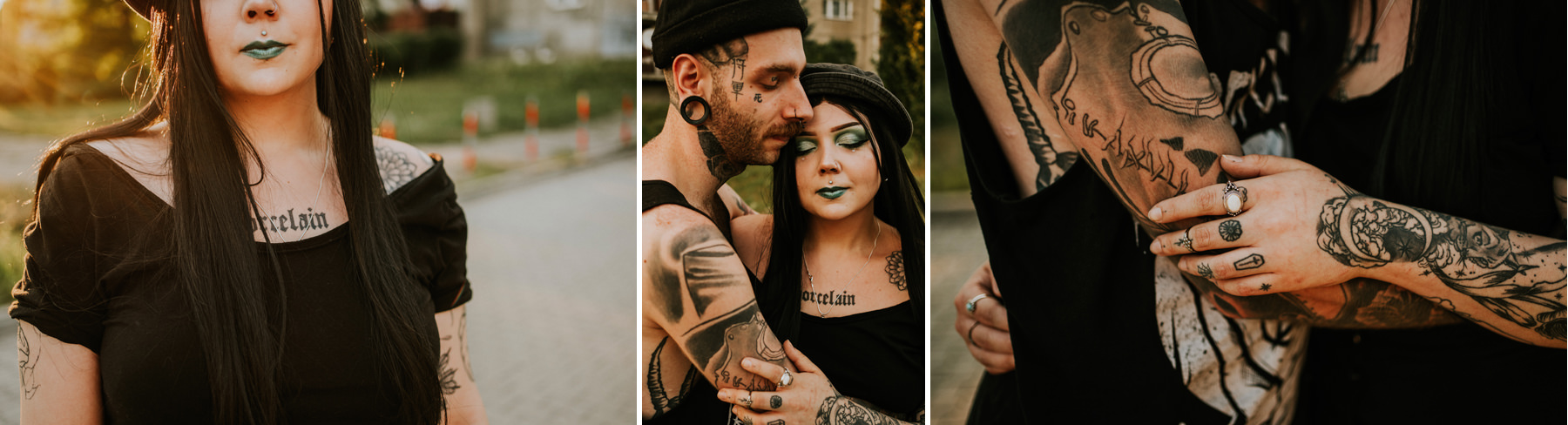 inked couple krakow