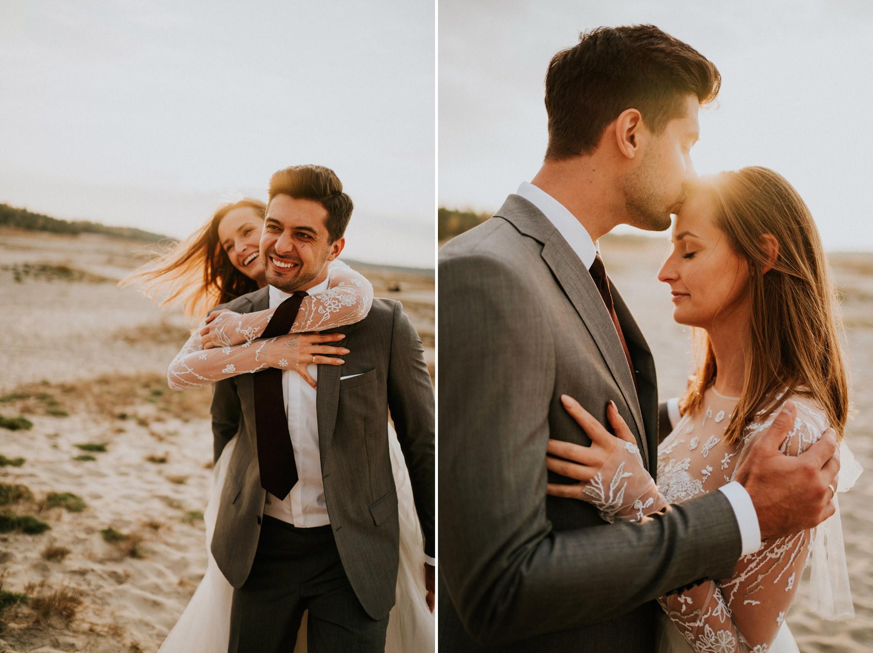 pustynia błędowska sesja poslubna