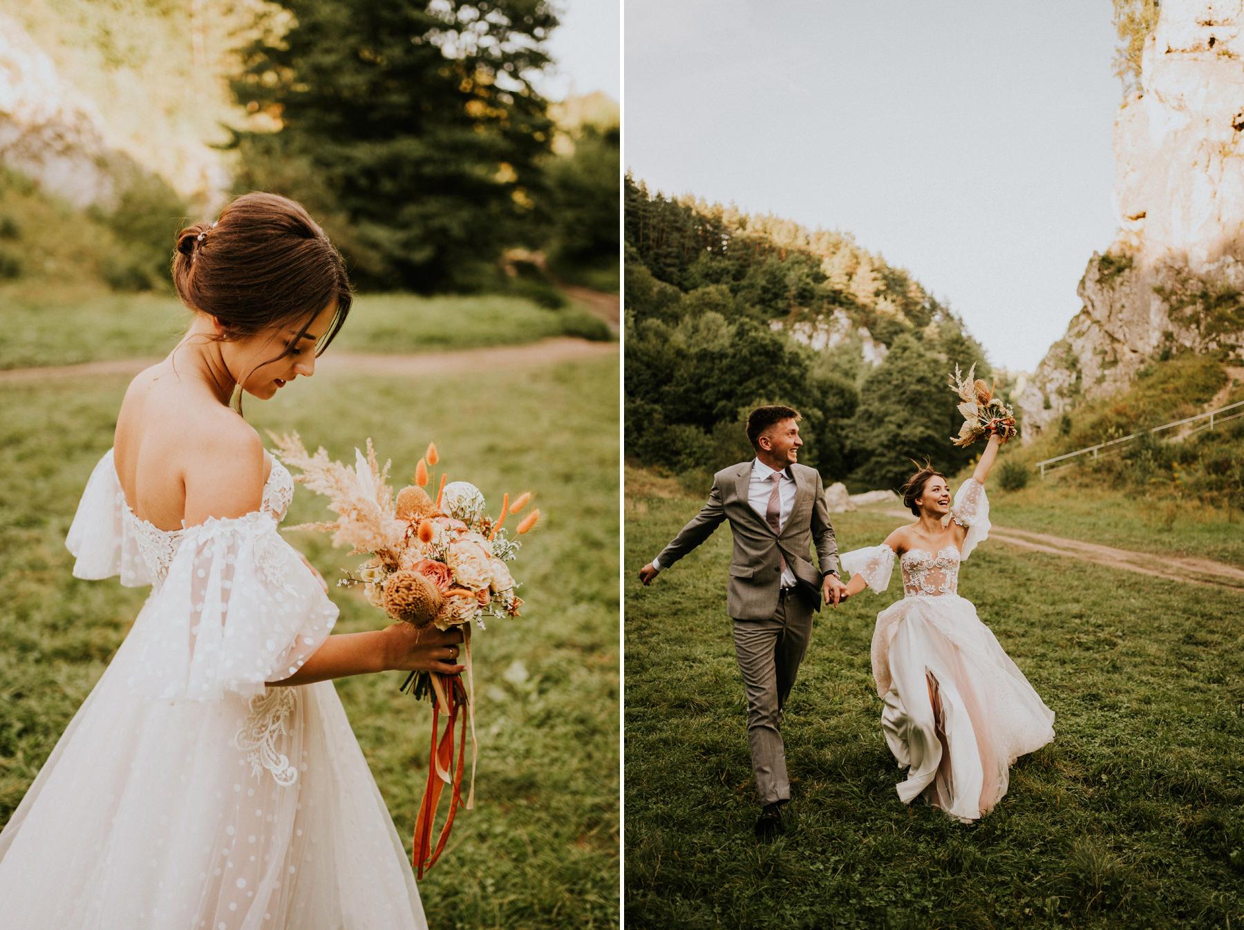 sesja poślubna na Jurze fotograf