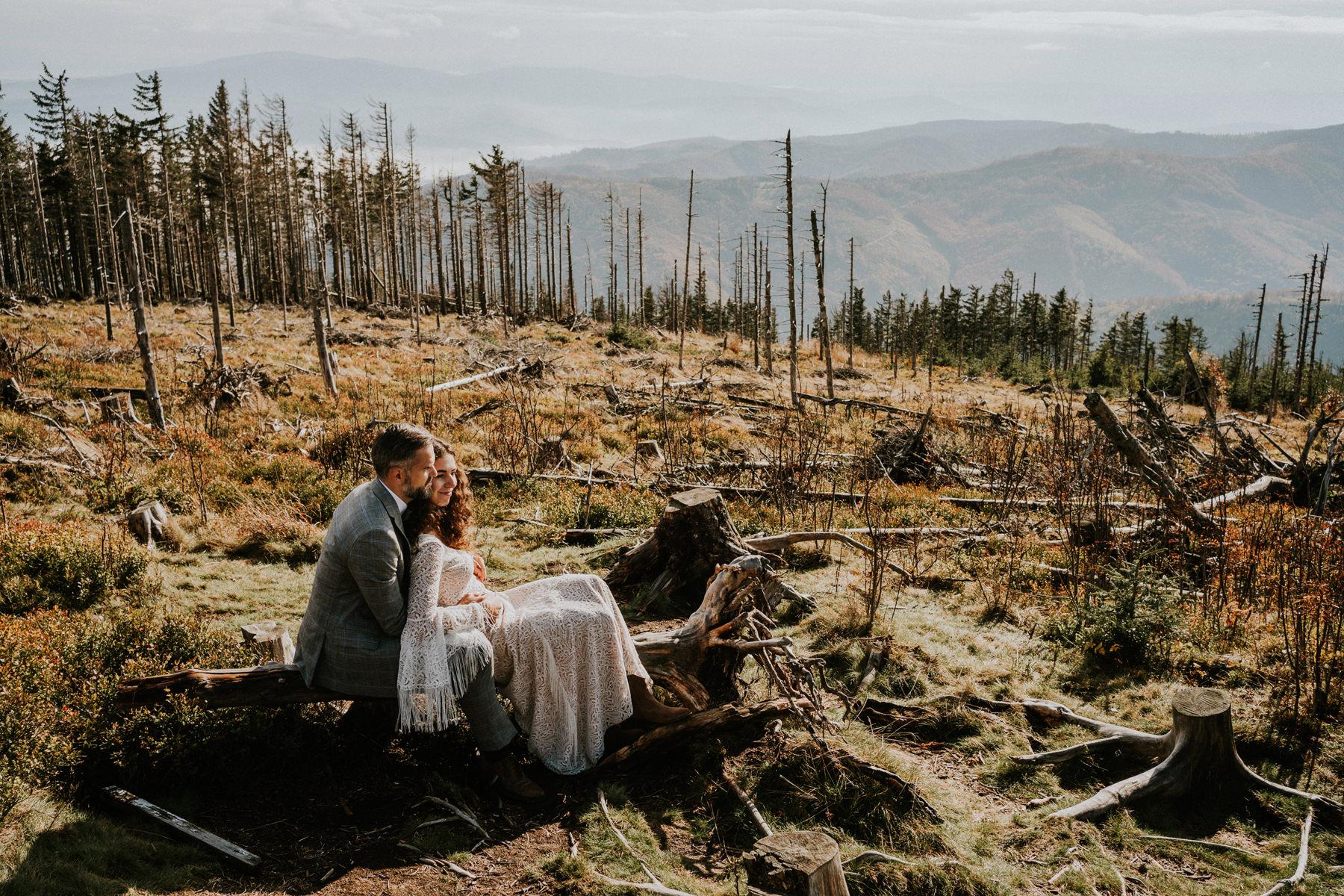 fotografia ślubna w górach kraków