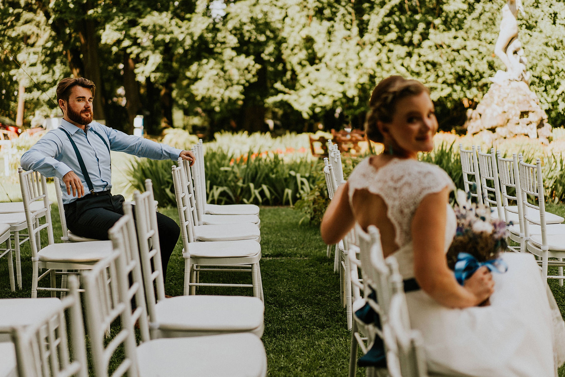 Palac Zelenskich outdoor wedding